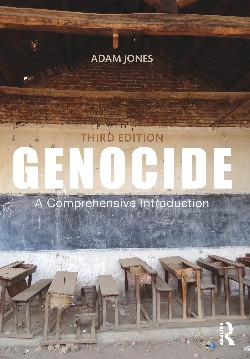 Genocide: A Comprehensive Introduction. Cover image: Abandoned classroom in Kabgayi religious complex/death camp, Rwanda. Photo by Adam Jones.